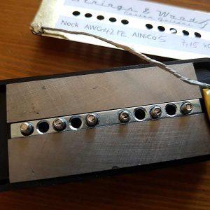 AlNiCo5 Barrenmagnete eingesetzt