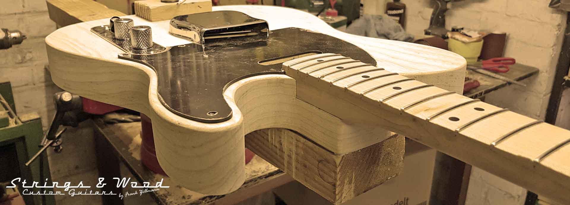 Informationen zum Gitarrenbau